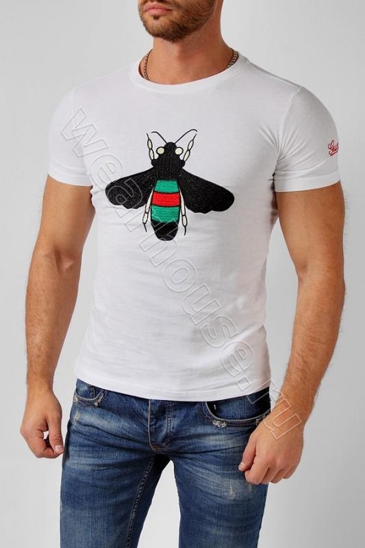 fa4f9392aa4b Мужская футболка Gucci. Купить в интернет магазине. Цена в СПб ...