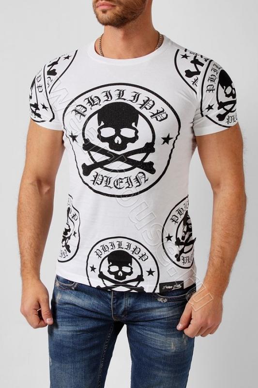 219329f2b6f Мужская футболка Philipp Plein. Купить в интернет магазине. Цена в ...