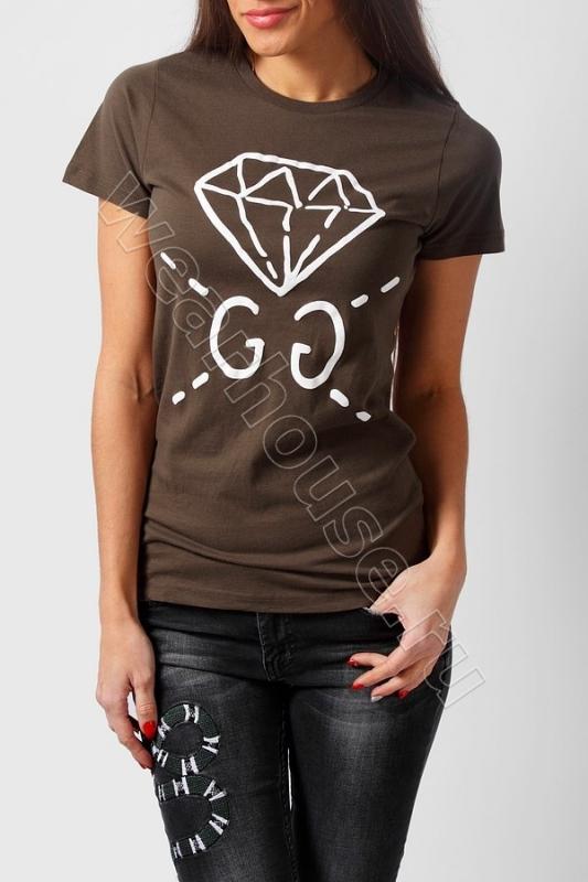 7bc790c0c4a5 Женская футболка Gucci. Купить в интернет магазине. Цена в СПб ...