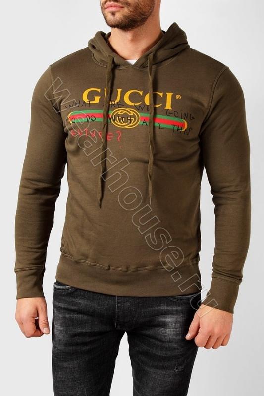 12663ca2f3d1 Мужская Толстовка Gucci. Купить в интернет магазине. Цена в СПб ...