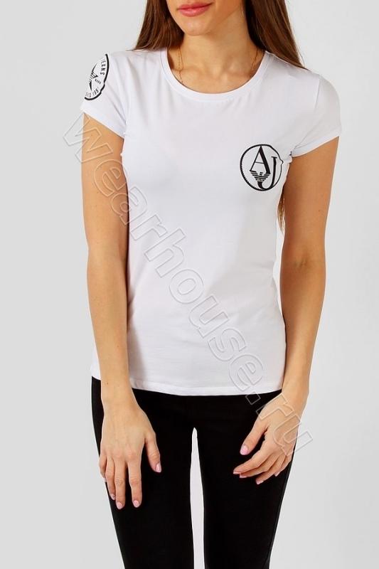 Женская футболка ARMANI. Купить в интернет магазине. Цена в СПб ... 52c4aa4c62d