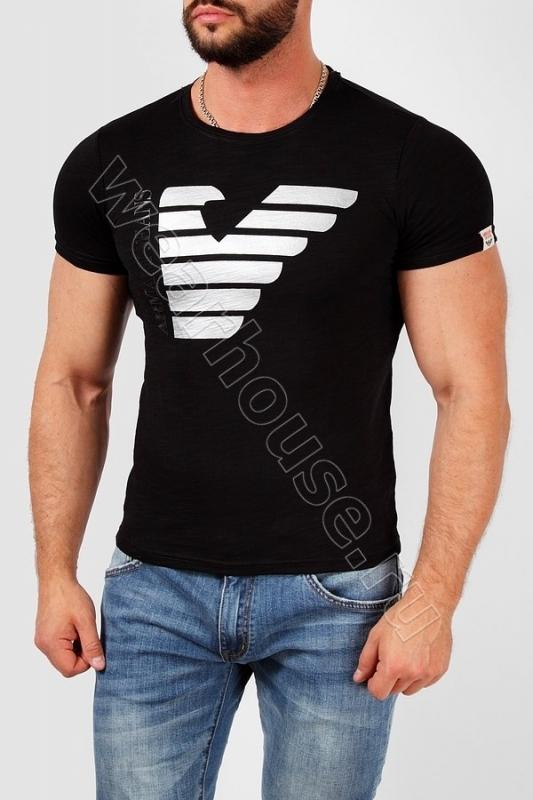 c9bf0684eb89 Мужская футболка Armani. Купить в интернет магазине. Цена в СПб ...