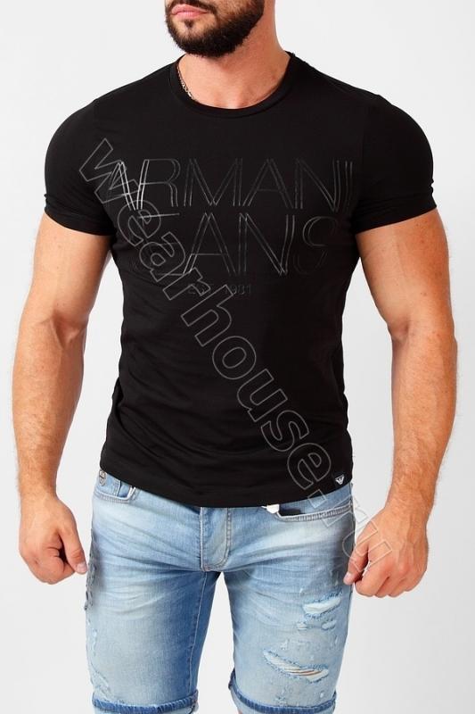 Мужская Футболка Armani. Купить в интернет магазине. Цена в СПб ... b1c09cc7be6