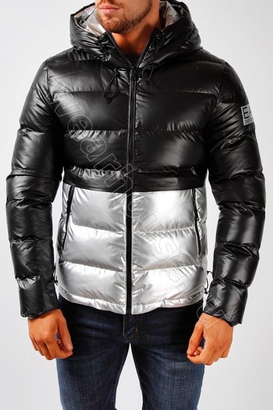 4aed3227c98 Мужская зимняя куртка EA7. Купить в интернет магазине. Цена в СПб ...