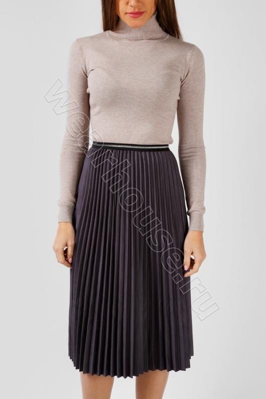 f01eeeef8976893 Плиссированная юбка Wear House из экозамши. Купить в интернет ...