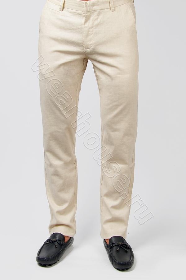 0ca8361f9c9f Мужские брюки лен Armani. Купить в интернет магазине. Цена в СПб ...