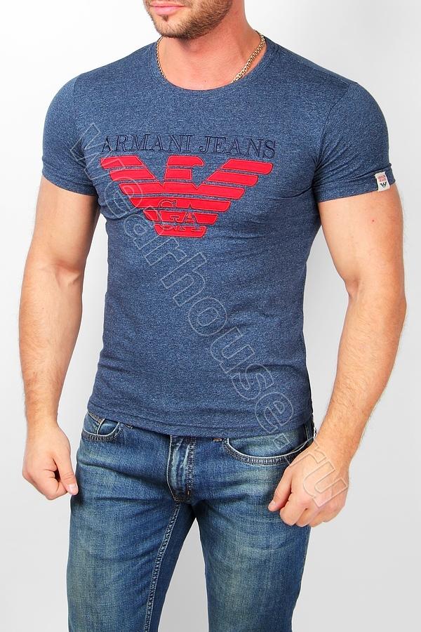 Мужская футболка Armani. Купить в интернет магазине. Цена в СПб ... 5c196bca9be