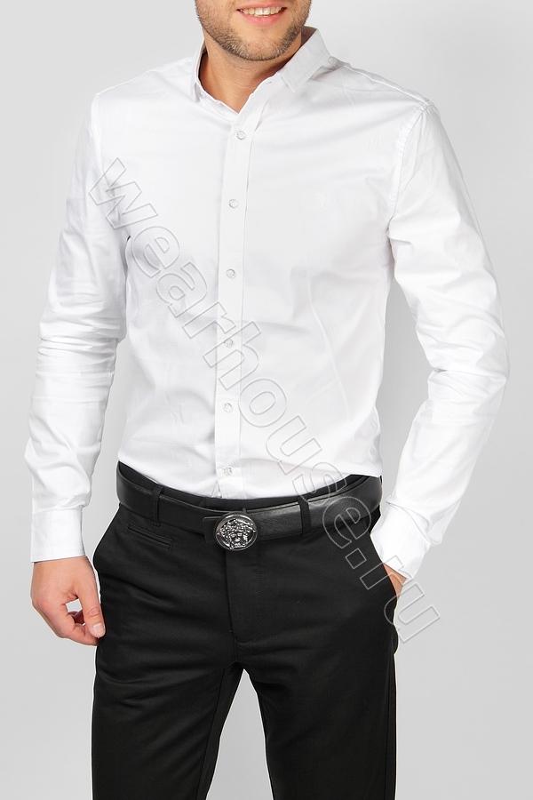 482f1c5351b Белая мужская рубашка Stefano Ricci. Купить в интернет магазине ...