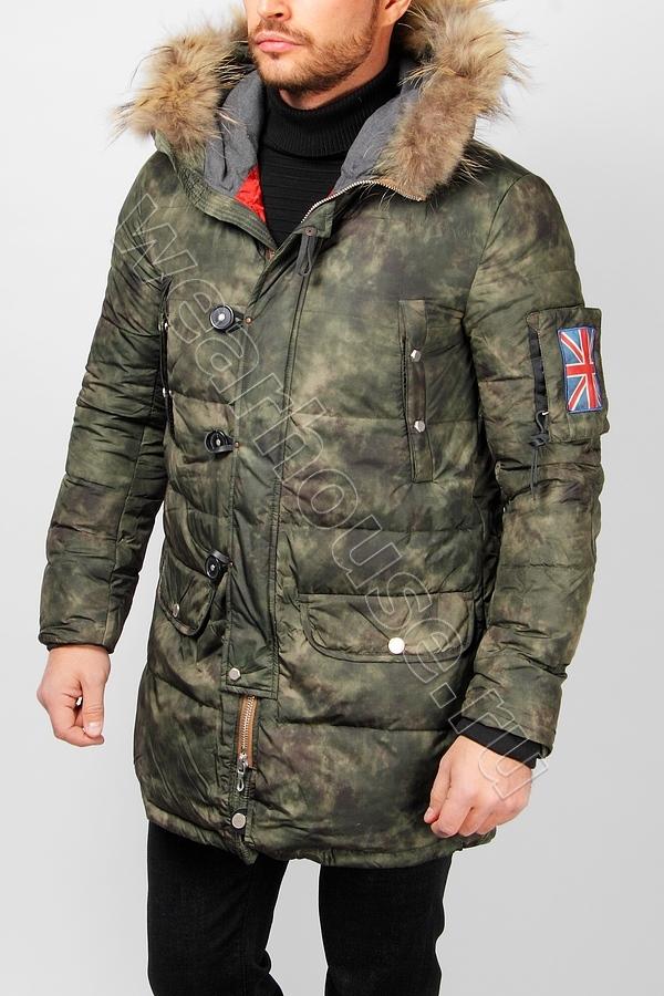 5f042a2a4b910 Зимний мужской пуховик Wear House. Купить в интернет магазине. Цена ...