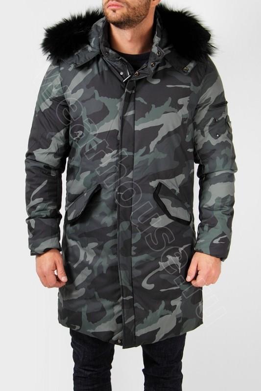 5805a942067 Зимняя мужская куртка Armani. Купить в интернет магазине. Цена в СПб ...