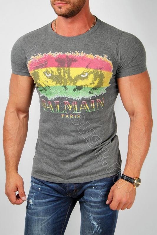 Футболка мужская Balmain. Купить в интернет магазине. Цена в СПб ... aa744bdc0e7